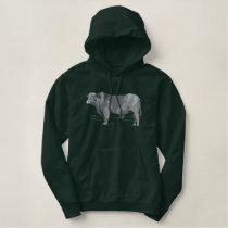 Brangus Bull Embroidered Hoodie