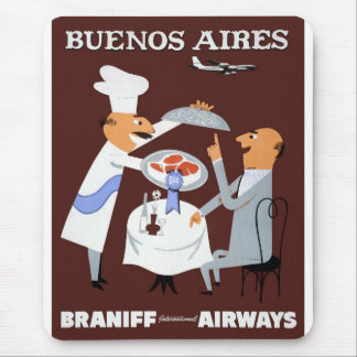 Braniff - Buenos Aires Mouse Pad
