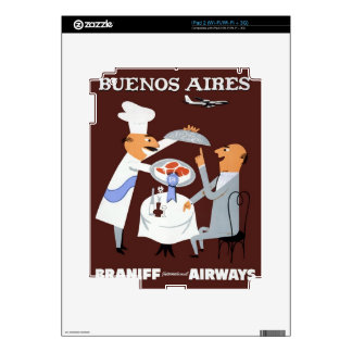Braniff - Buenos Aires Skin For iPad 2