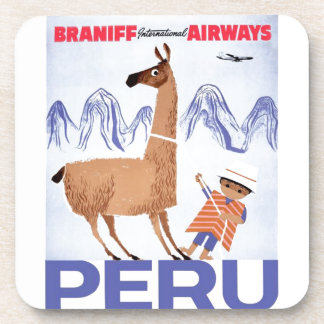 Braniff - Perú Posavasos De Bebida