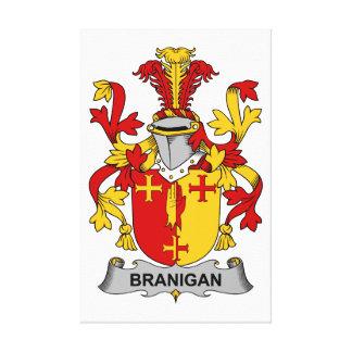 Branigan Family Crest Canvas Print
