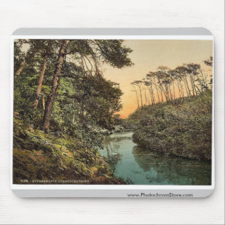 Branksome Chine, Bournemouth, England vintage Phot Mouse Pad