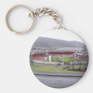 Brann Stadion Llavero Redondo Tipo Pin