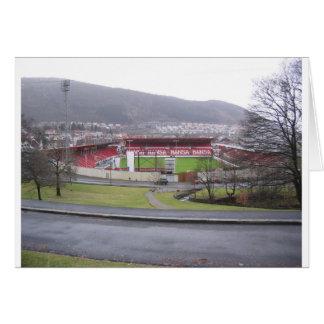 Brann Stadion Tarjeta De Felicitación