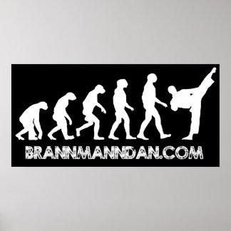 Brannmanndan Poster
