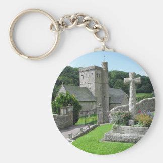 Branscombe Church Keychain