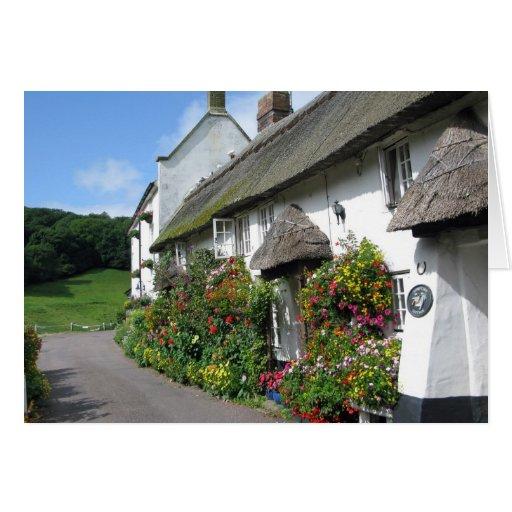 Branscombe Village Devon Card