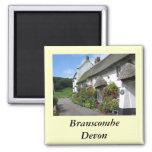 Branscombe Village Devon Fridge Magnets