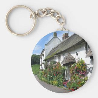 Branscombe Village Devon Keychain