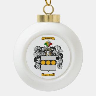Branson Ceramic Ball Christmas Ornament