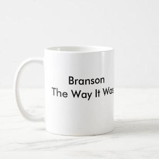 Branson la manera era taza clásica
