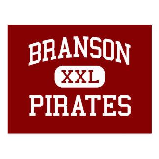 Branson - piratas - High School secundaria - Tarjeta Postal