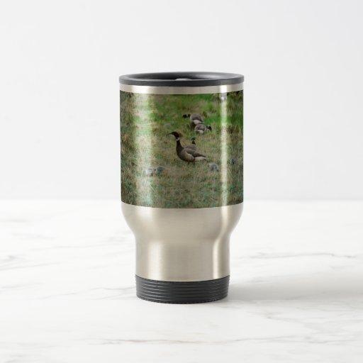 Brant broods 15 oz stainless steel travel mug