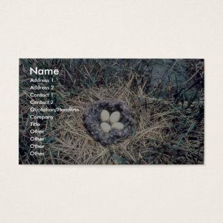 Brant Nest Business Card