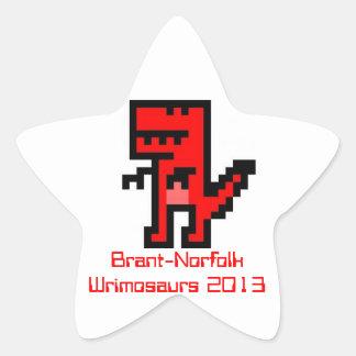 Brant-Norfolk 2013 Tiny Star Stickers