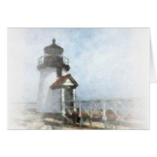 Brant Point Light Card