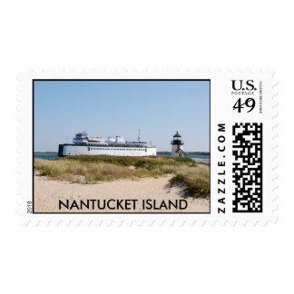 Brant Point Light Stamp
