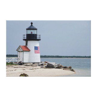 Brant Point Lighthouse 2 Stretched Canvas Prints