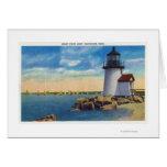 Brant Point Lighthouse Scene Card