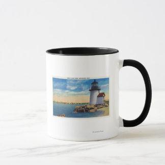 Brant Point Lighthouse Scene Mug