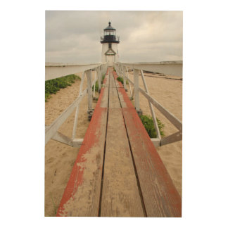Brant Point Lighthouse Wood Prints