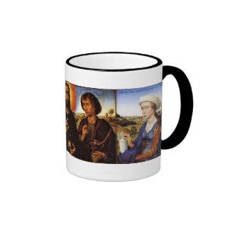 Braque Family Triptych Ringer Mug