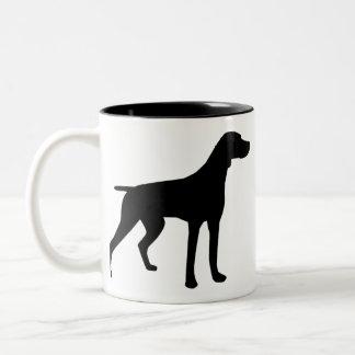 Braque Francais, de Grande Taille Two-Tone Coffee Mug