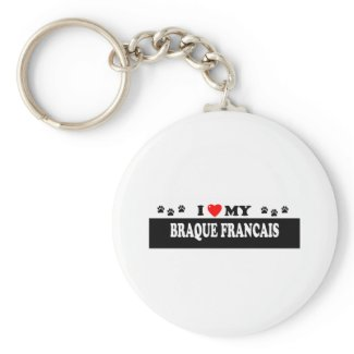 BRAQUE FRANCAIS KEY CHAINS