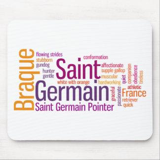 Braque Saint Germain Mouse Pad
