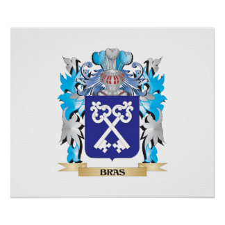 Bras Coat of Arms Posters