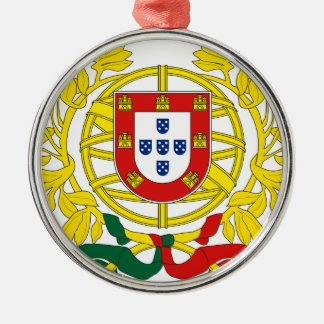 Brasão de Armas (Coat of Arms) de Portugal Metal Ornament