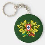 Brasão de armas de Portugal Llavero Redondo Tipo Pin