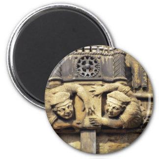 Brasenose Gargoyles 2 Inch Round Magnet