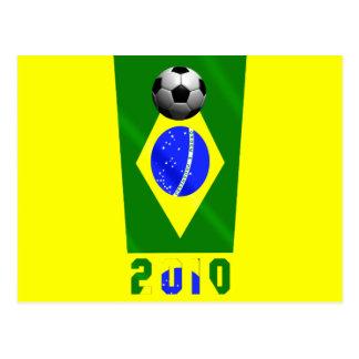 Brasil 2010 postcard