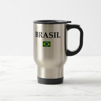 Brasil (2) 15 oz stainless steel travel mug