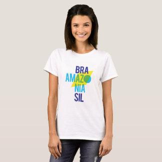 Brasil Amazonia Flag T-Shirt