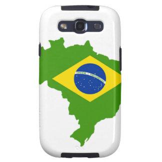Brasil bandera Brazil Galaxy S3 Carcasas