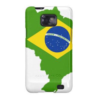 Brasil bandera Brazil Galaxy SII Coberturas