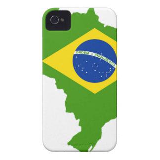 Brasil bandera Brazil iPhone 4 Case-Mate Fundas