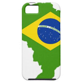 Brasil bandera Brazil iPhone 5 Case-Mate Carcasa