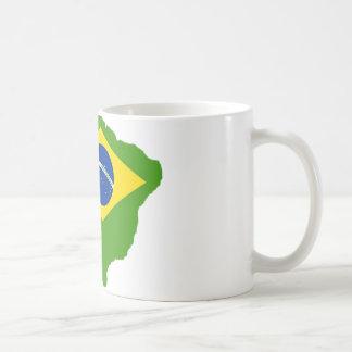 Brasil bandera Brazil Taza
