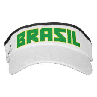 Brasil Bold Text Visor Hat