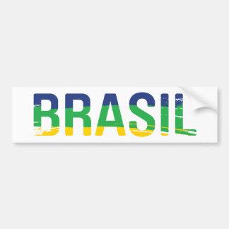 Brasil - Brazil Bumper Sticker