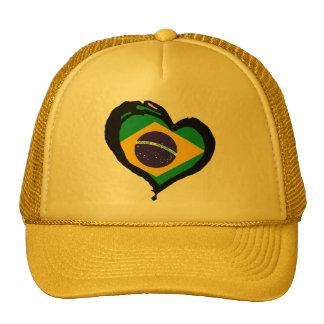 Brasil Brazil Mesh Hat
