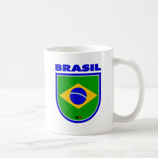 Brasil (Brazil) Classic White Coffee Mug
