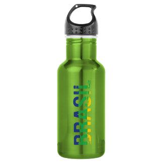 Brasil - Brazil Stainless Steel Water Bottle