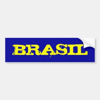 BRASIL BUMPER STICKER