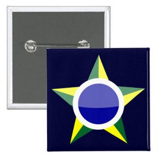 Brasil 2 Inch Square Button
