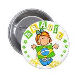 Brasil Button