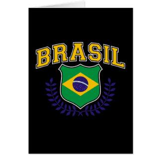 Brasil. Greeting Card